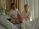 Chiara mit Hebamme und Doktor
