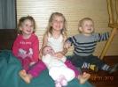 Chiara mit Cousinen